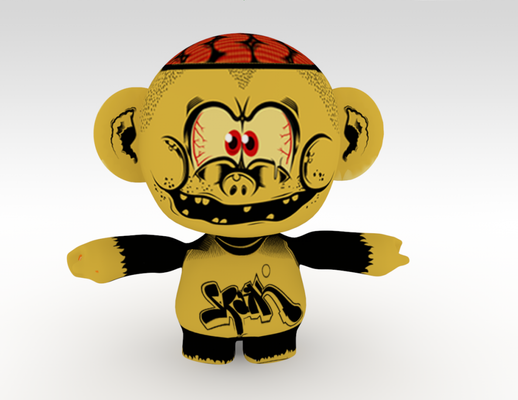 3D Animation project for Music Monsters